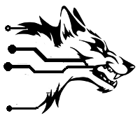 Simplified Betawolf Sock Logo