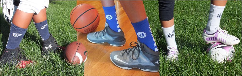 custom sock fundraiser